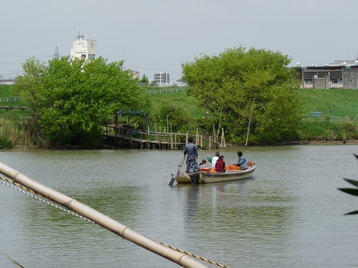 Yagiri ferry boat.