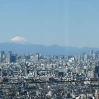 Mt.Fuji and TokyoSkyTree