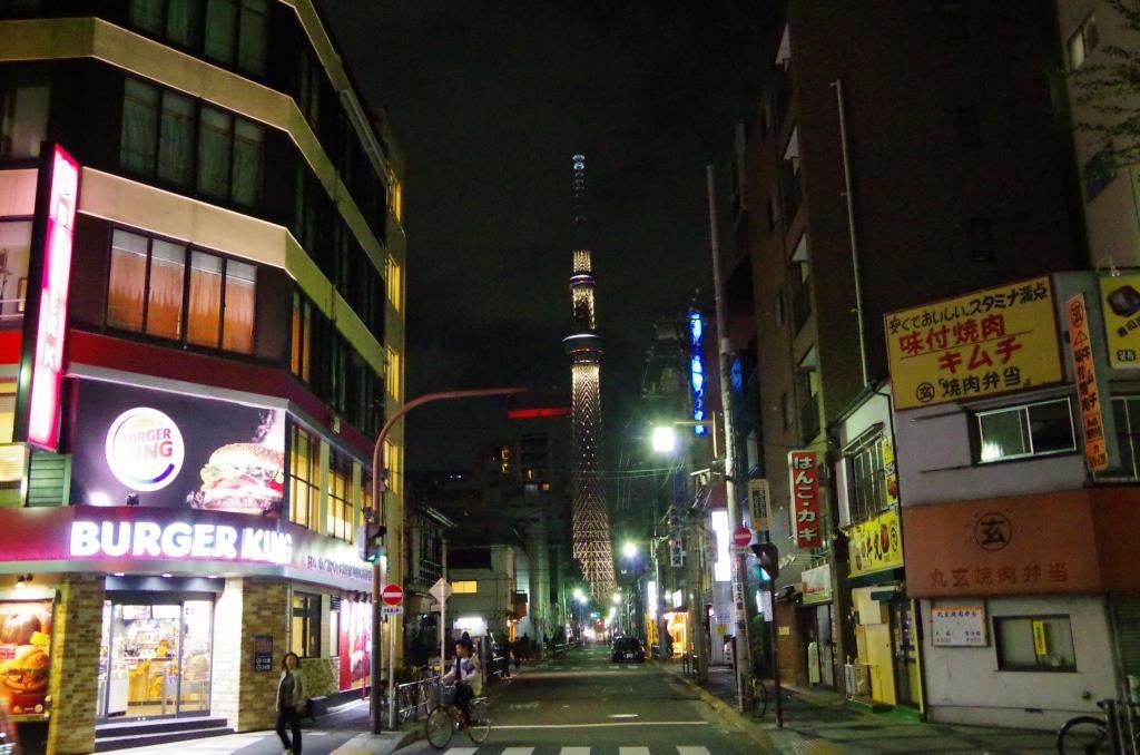 錦糸町近くにて