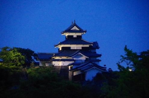 Komine Castle (Landscape)