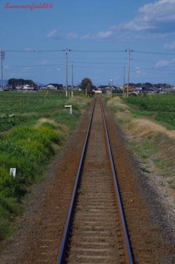Between Isozaki Station and Hiraiso Station