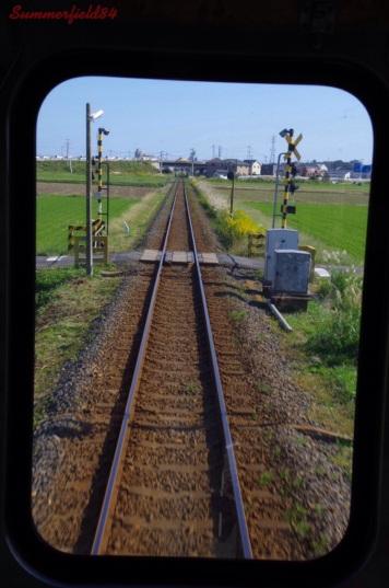 Between Nakaminato Station and Nakane Station