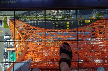 145 meters above