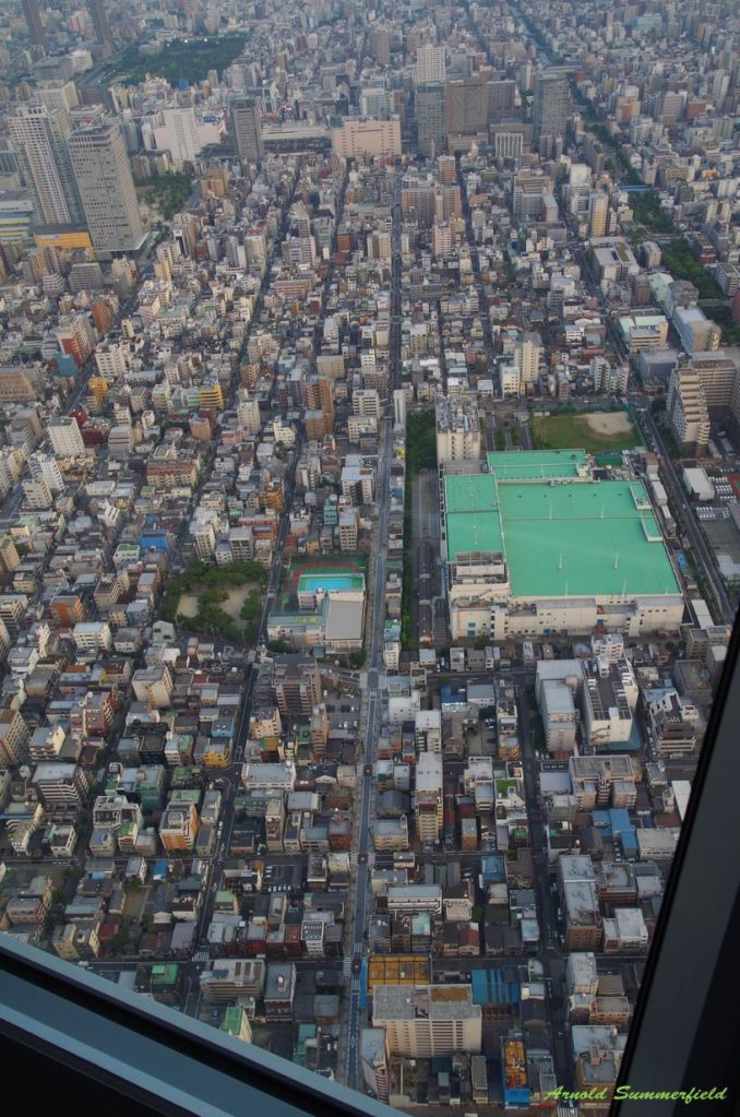 Tower View Street from Tokyo Sky Tree