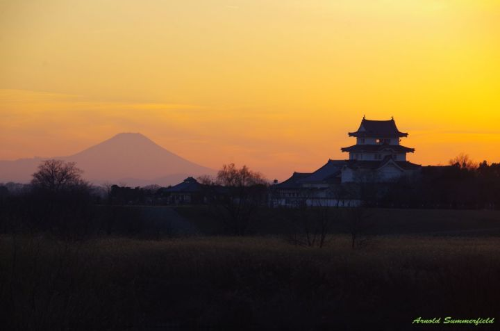 Mt.Fuji and Sekiyado museum